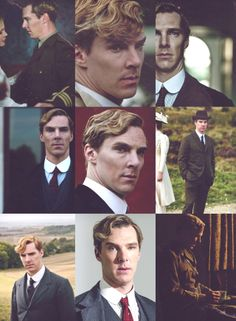 BC as Christopher Tijens from Parade's End. His voice in this production is super deep and utterly gorgeous. Mmmm