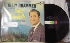 Billy Grammer ~ Gotta Travel On LP