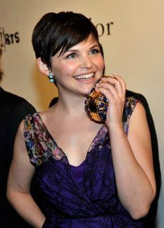 Ginnifer Goodwin, proof a round face can pull off a pixie