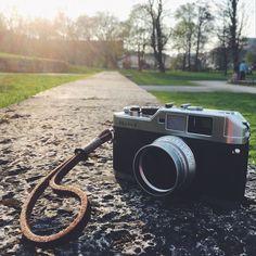 Back to basics!   #voigtländer #bessa #filmphotography #munich #luitpoldpark #münchen  #vsco http://fb.me/konzy.me
