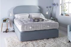 Vispring Devonshire Matress & Divan with Base Drawers - Discover Vispring at And So To Bed.