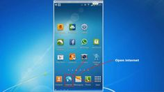 Android Tutorial 4 - Desktop View for Internet Browser (Samsung Galaxy S4 - Video)