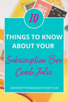 Are ready to start my subscription box business? Then you are in luck because Subscription Box Bootcamp opens at a discounted rate at the end of this week. Start a sub box, How to start a subscription…
