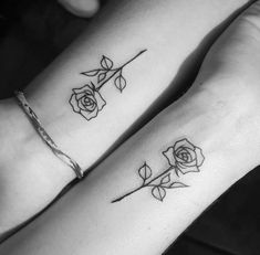 Rose Outline Tattoo Tattoos