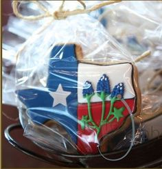 Texas Cookie - Deb's Crafty Cookies And Country Things Wedding Favors, Party Favors, Wedding Gifts, Wedding Ideas, Fall Wedding, Dream Wedding, Rustic Wedding, Texas Party, Western Parties