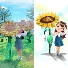 Chibi, Painting, Art, Art Background, Painting Art, Kunst, Paintings, Performing Arts, Painted Canvas