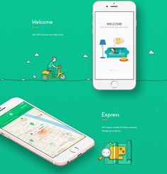 AITI express app design on Behance
