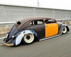 Loucos por Fusca — malautomat: … AIRCOOLED RAT ROD #vw... Rat Rods, Vw Rat Rod, Hot Vw, Vw Classic, Vw Vintage, Vw Cars, Vw Beetles, Custom Cars, Rats