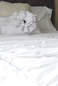 Fussy Monkey Business: Pottery Barn's Hadley Ruched Duvet Knock Off