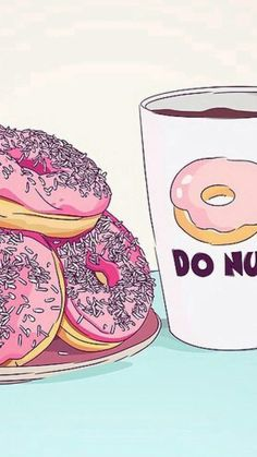 iphone_wallpaper #iphone #sweet #Donuts