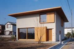 Minimal House Design, Modern Small House Design, Small Modern Home, Minimal Home, Japan Modern House, Japan House Design, Modern Japanese Architecture, Architecture Design, Small Japanese House