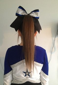Your hair probably looked like this at games or competitions. | 35 Things Every Cheerleader Will Understand #cheer #cheerleader #cheerleading