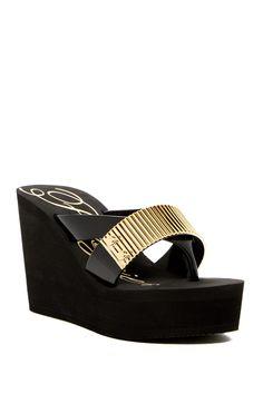 Evoke Wedge Sandal by Fergie on @nordstrom_rack
