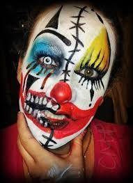 Image result for killer clown makeup