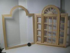 Houseworks 1 6 Scale Barbie Palladian Casement Window 95049 | eBay