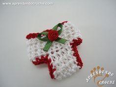 Mini Calcinha em Crochê - Lembrancinha Nascimento - YouTube