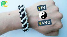 How to make Paracord Bracelet Yin & Yang