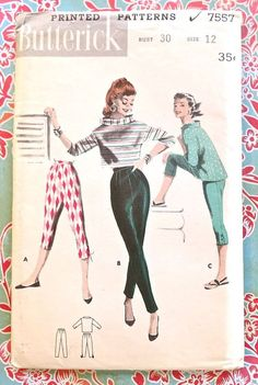 Sarah Ferguson - 1950 capris pattern, women started to wear pants so it was easier for them to work in the workplace. They started to wear more makeup to keep their femininity.