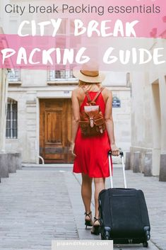 Pre-planning your city break packing will enable you to pack smarter and more efficiently. Check out these packing tips and product recommendations and pack like a boss! City Break Packing, Packing List For Vacation, Packing For A Cruise, Packing Tips, European Breaks, Short City Breaks, Weekend City Breaks, Travel Essentials For Women, What To Pack