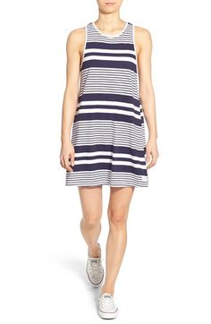 Rhythm 'Strokes' Stripe Cotton Tunic Dress available at #Nordstrom