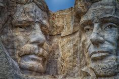 Roosevelt and Lincoln – Mt Rushmore. Photo by Stewart Baird