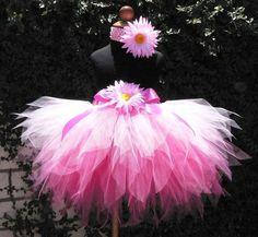 Perfectly Pinkalicious  Custom Sewn 3 Tiered Pixie by TiarasTutus, $46.00