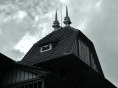 Compare with the roof on Pustevny. Again Jurkovič.