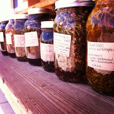 Frugally Sustainable's Herbal Tinctures