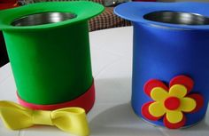 Blog com artesanatos em EVA, como enfeites p/ festas, lembrancinhas e presentes.
