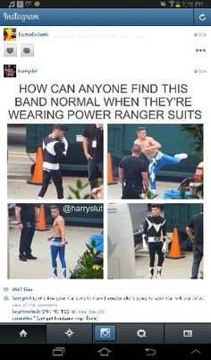 aww One Direction as Power Rangers One Direction Humor, One Direction Pictures, I Love One Direction, Power Rangers, 1d And 5sos, Kpop, Harry Styles, Boy Bands, First Love