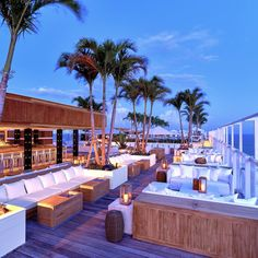 Find and save ideas about The 1 Hotel Miami for every room of your home. See more about The 1 Hotel Miami and House design. South Beach Miami, South Beach Hotels, Miami Beach Bars, Miami Pool, North Beach, Beach Resorts, Rooftop Design, Rooftop Lounge, Bar Lounge