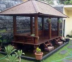 Image result for saung bambu