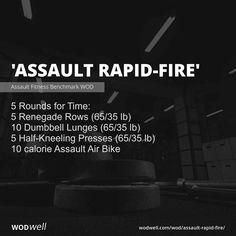 Crossfit Workouts At Home, Bike Workouts, Assault Bike Workout, Amrap Workout, Training Motivation, Travel Workout, I Work Out, Kettlebell, Workout Routines