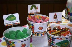 The Very Hungry Caterpillar Birthday Party Ideas | Photo 11 of 34 | Catch My Party