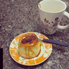 Aprenda a preparar a receita de Pudim de caneca delicioso super rápido