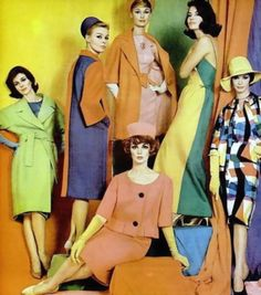Fashions Today (1960), photo by Milton Greene