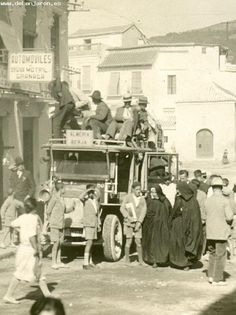 Spain. 1930s scene in Andalusia, before Civil War