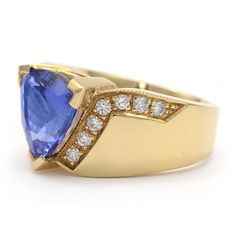 Tanzanite Fashion Ring