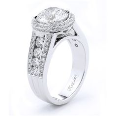 18KTW ENGAGEMENT RING, DIAMOND 1.28CT ROYAL COLLECTION