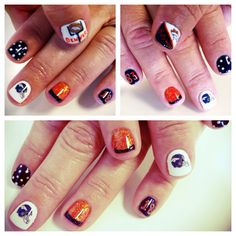 SO many girly football ideas to support the Broncos during the playoffs! #football