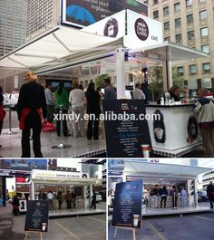 POP-UP prefabricated coffee shops design, 40FT prefab Mobile shipping container coffee shop, View container coffee shop, Element space Product Details from Guangzhou Xindy Animation Technology Co., Ltd. on Alibaba.com