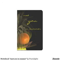 "Notitzbuch ""meet you in summer"" tagebuch"