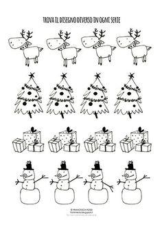 Free Christmas Games, Printable Christmas Games, Christmas Activities For Kids, Preschool Activities, Real Christmas Tree, Christmas Art, Xmas Gifts, Free Games, Free Printables