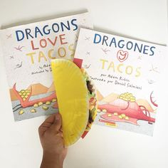 I was the mystery reader at Lennon's school and I prepared this paper plate craft taco to go along with the book I choose to ready to the kids, Dragon Love Tacos 🐉❤️🌮 ingredients: paper plate + yellow paint (tortilla), brown yarn pieces (beef), red...