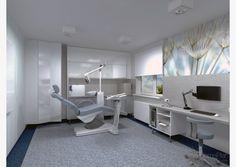 Gabinet stomatologiczny   Projektowanie wnętrz, architekt wnętrz Poznań