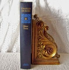 Vintage Book Charles Dickens Oliver Twist Dickens by CynthiasAttic