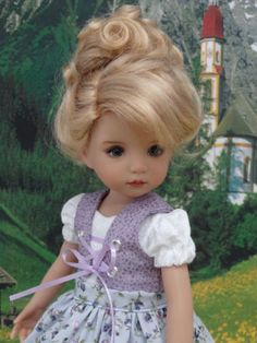 "Bavarian Alps - dirndl & shoes for Dianna Effner Little Darling Dolls 13"" | Dolls & Bears, Dolls, Clothes & Accessories | eBay!"