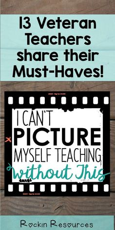 Each of the 13 veteran teachers share their Must Have book, Must Have classroom supply, and Must Have resource. As a bonus, they each include a complimentary resource for you! Check out this awesome blog post!