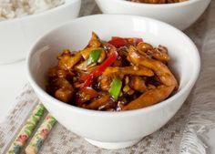 Свинина стир фрай с грибами и овощами | Печем и варим