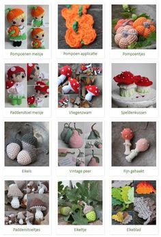 202 Beste Afbeeldingen Van Herfst Haken Amigurumi Patterns